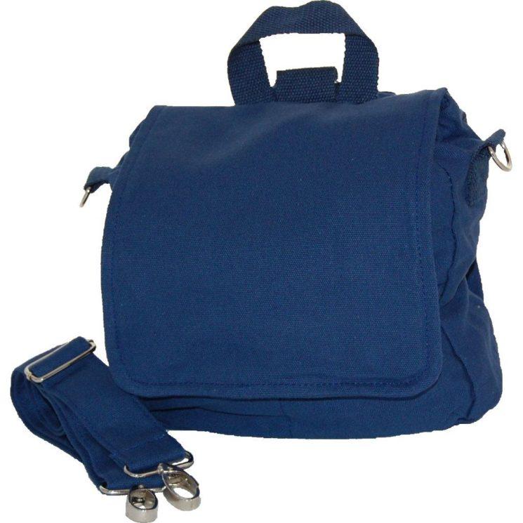Multifunktionstasche zum Selbstgestalten von Lieblingsstücke dunkelblau S