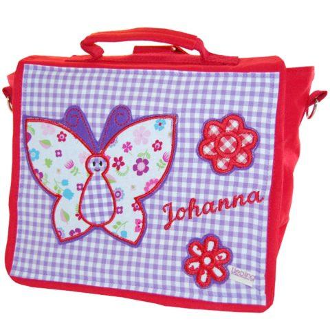 Kindertasche Schmetterling und Name von LIeblingsstücke