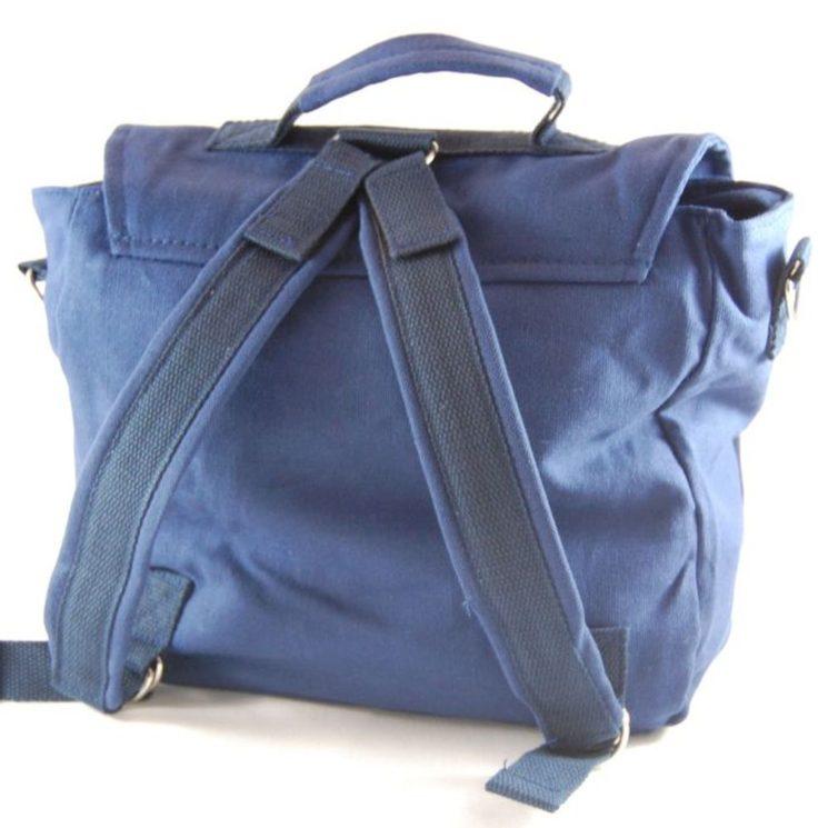 Kindergartentasche mit Rucksasckgurte blau