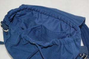 Multi-Tasche SMALL blau INNEN