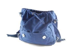 Multi-Tasche SMALL blau OFFEN