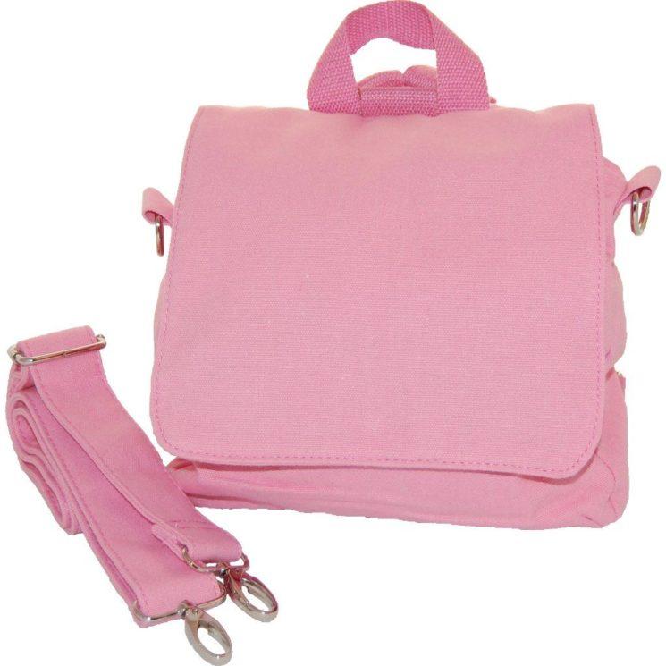 Kita-Tasche zum Besticken rosa Lieblingsstücke