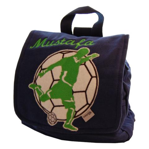 Kindergartentasche Fußballer mit Namen von Lieblingsstücke