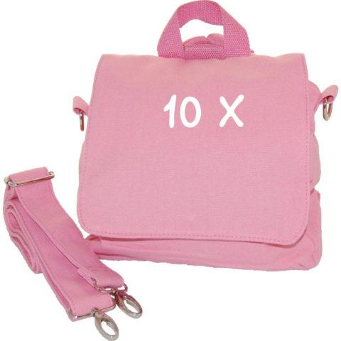 set 10 Kindergartentaschen Rohlinge 10x