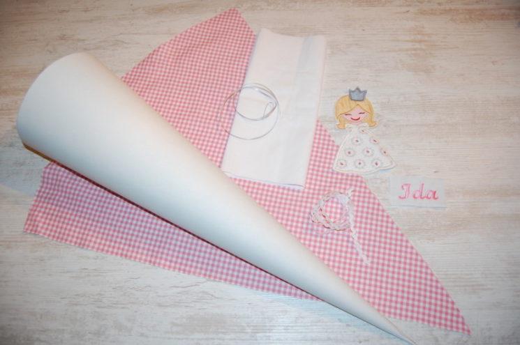Lieblingsstücke Bastelset – Schultüte / Zuckertüte zum Selbermachen