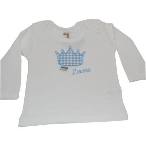 Babyshirt mit Namen und Krone Lieblingsstücke