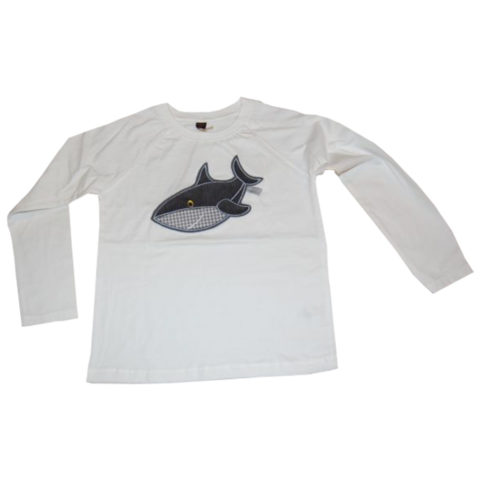 Langarmshirt Hai von Lieblingsstücke