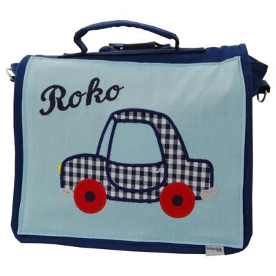 Kindergartentasche Auto mit Namen von Lieblingsstücke