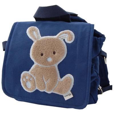 Kindergartentasche Hase in blau von Lieblingsstücke