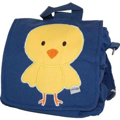 Kindergartentasche Küken blau von Lieblingsstücke
