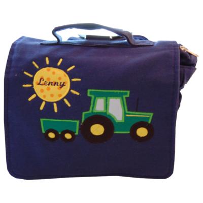 Kindergartentasche Traktor mit Namen Lieblingsstücke