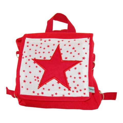 Kindergartentasche Stern rot Lieblingsstücke