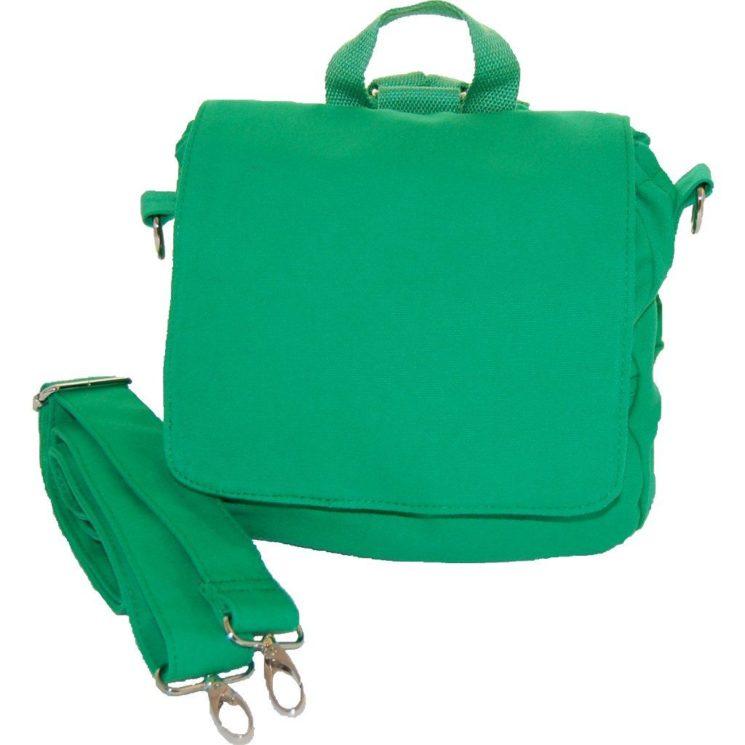 Rohling Kita-Tasche grün mit Zugband