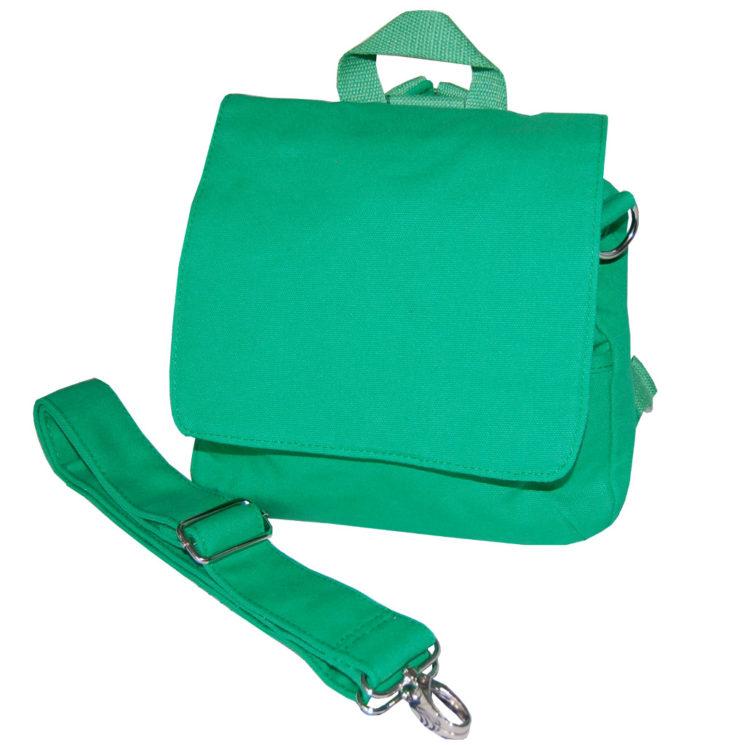 Kindergartentasche Taschenrohling in grün von Lieblingsstücke 4330