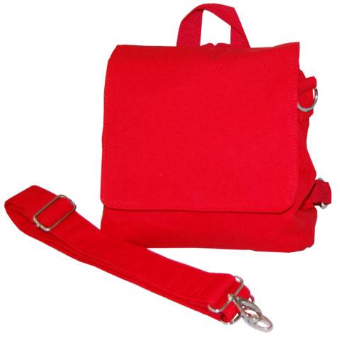 Taschenrohling multifunktionell, Kindertasche, Rucksack Kindergartentasche in rot von Lieblingsstücke 4330