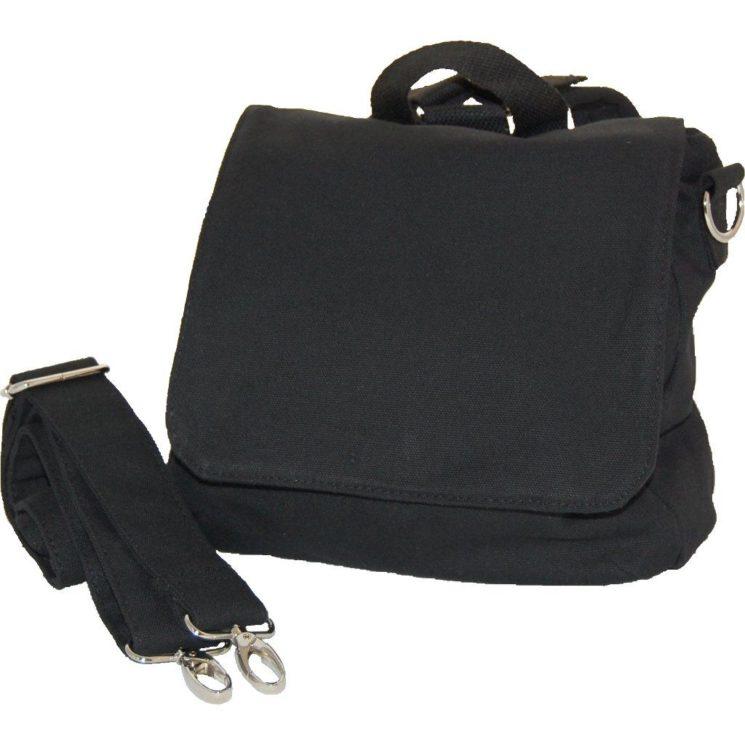 Kindergartentasche Rohling schwarz oder Rucksack zum Selbstgestalten schwarz