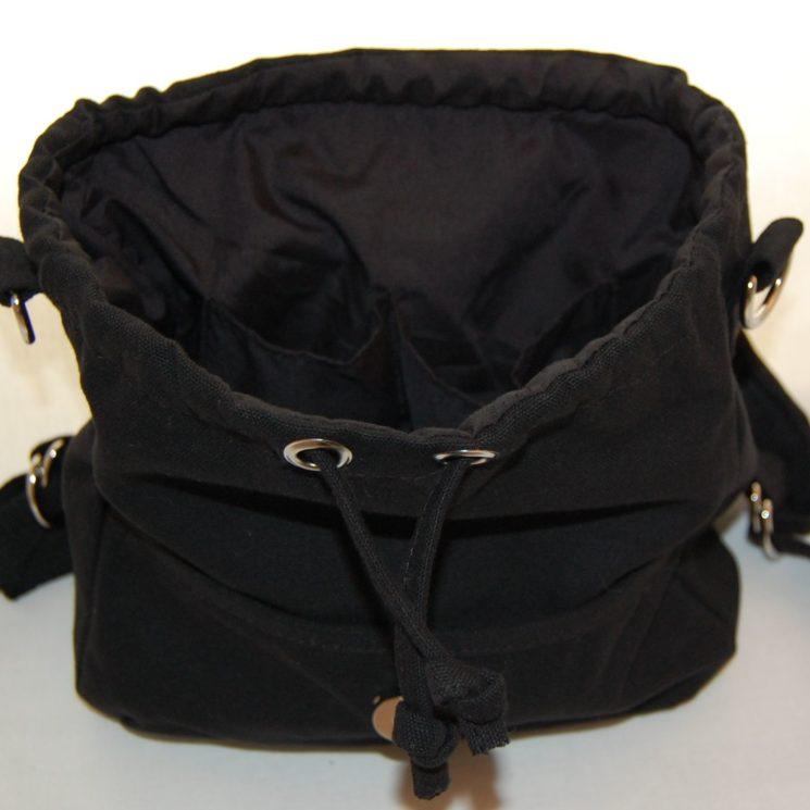 Lieblingsstücke Rohling Kindergartentasch Rucksack in schwarz