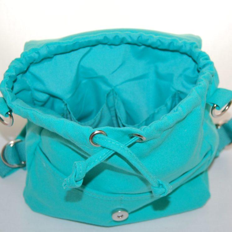Lieblingsstücke Rohling Kindergartentasch Rucksack in türkis