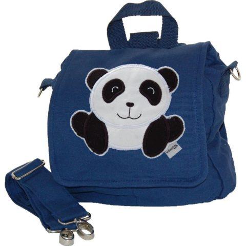 Kindergartentasche Panda blau
