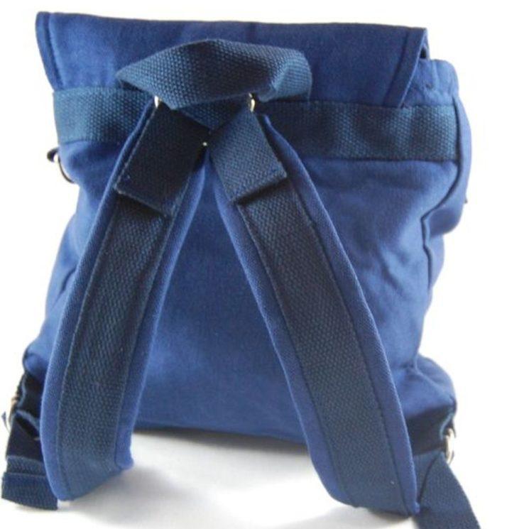 Multifunktionstasche Kindergartentasche und Rucksack in einem, dunkelblau von Lieblingsstücke