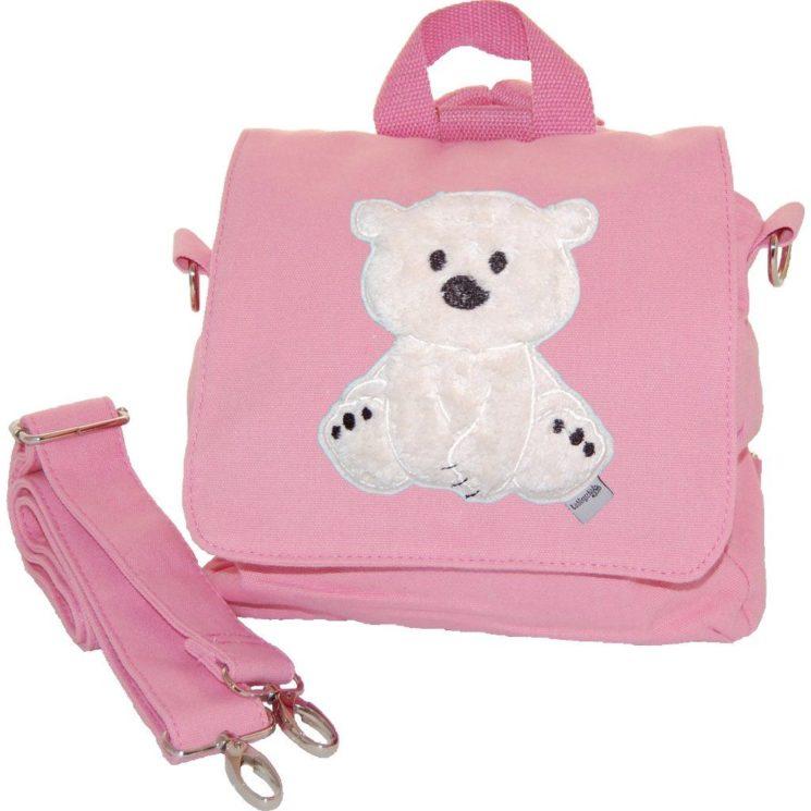 Multifunktionstasche Bärchen Lieblingsstücke in rosa