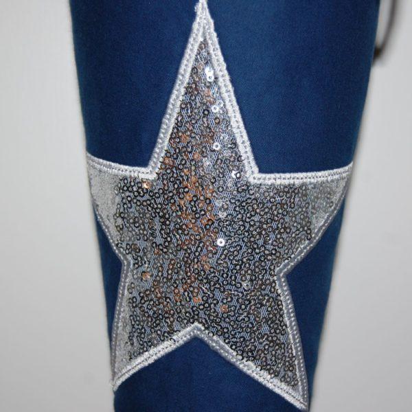 Lieblingsstücke Schultüte Stern mit Pailetten in silber