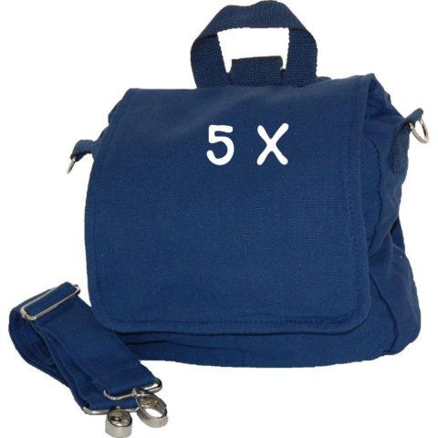 Set Taschenrohlinge 5 Kindergartentasche blau Lieblingsstücke
