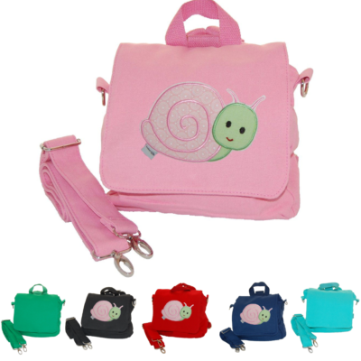 Kindergartentasche Schnecke mit Namen von Lieblingsstücke 4330