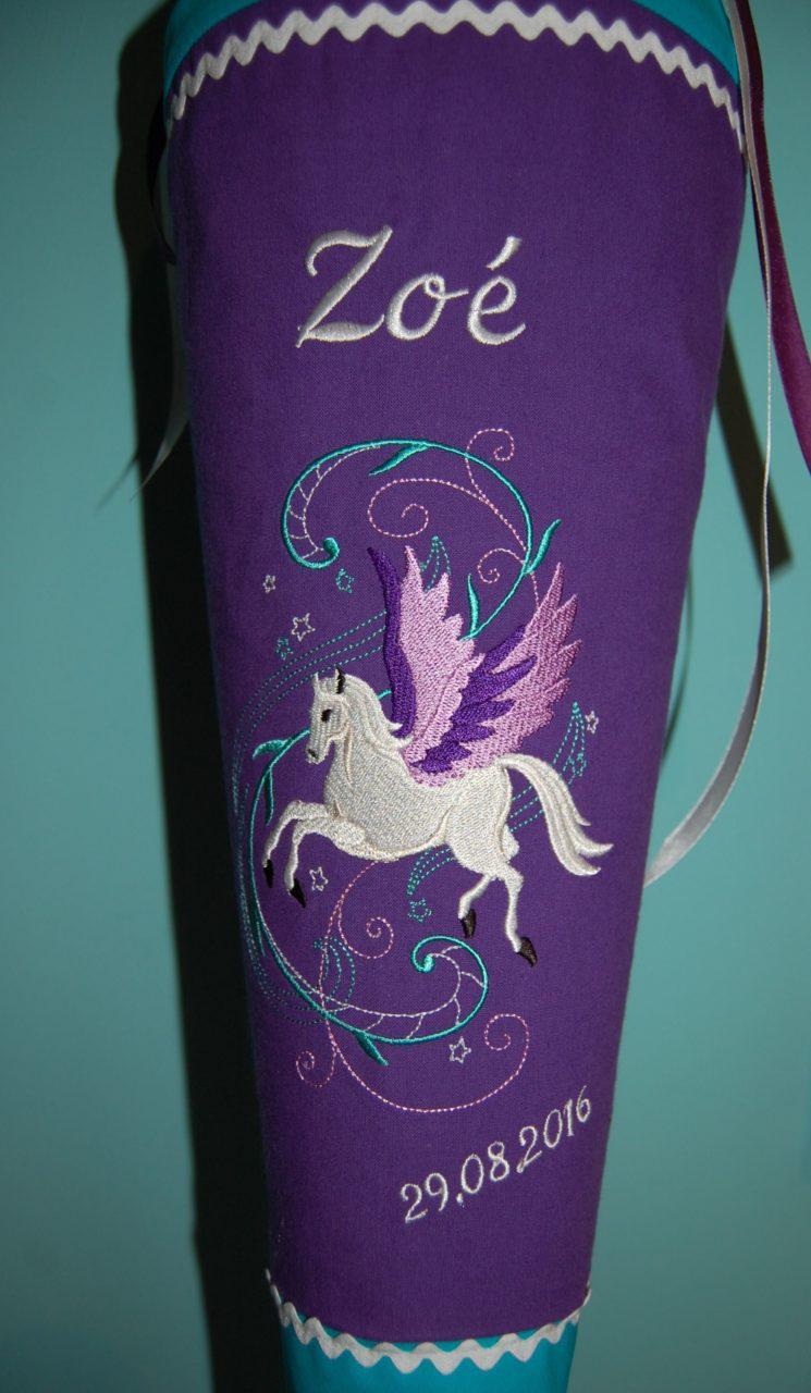 Pegasus Schultüte von Lieblingsstücke
