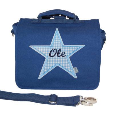 Kindergartentasche mit Stern und Namen von Lieblingsstücke 4330