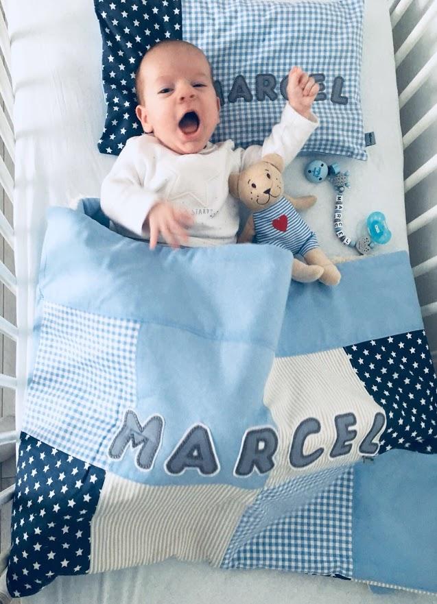 Babydecke mit Namen von Lieblingsstücke 4330