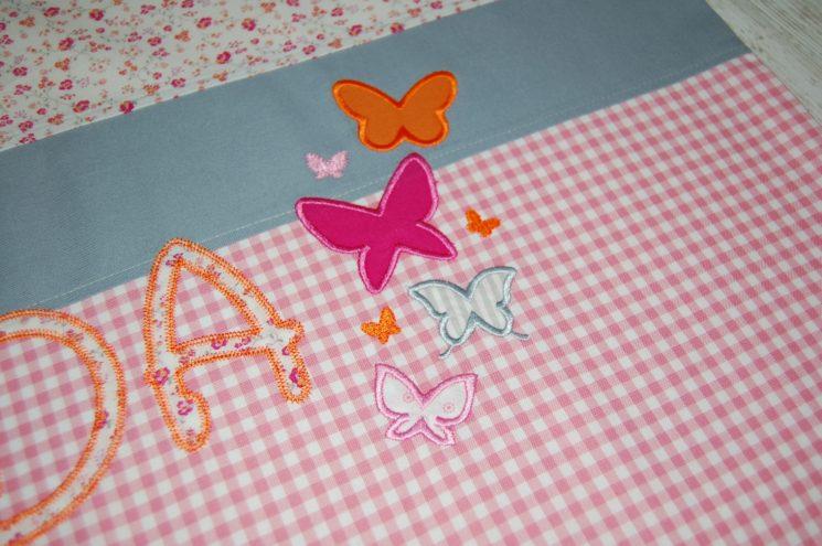 Decke mit Schmetterlingen von Lieblingsstücke