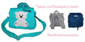 Kindergartentasche mit Namen von Lieblingsstücke 4330