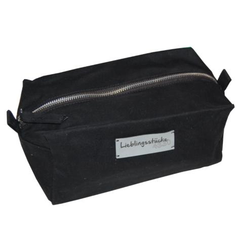 Kulturtasche aus Baumwolle von LIeblingsstücke 4330