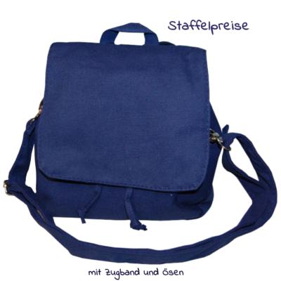Canvas Tasche Taschenrohling Kindergartentasche Rucksack Lieblingsstücke 4330