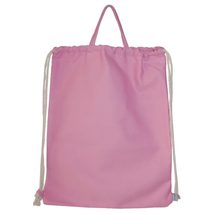 Turnbeutel rosa Canvas passend zur Kindergartentasche ROHLING von Lieblingsstücke 4330 das Original