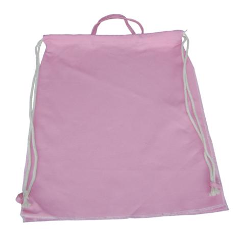 Canvas Turnbeutel in rosa zum Selbstgestaltung Rohling von LIeblingsstücke