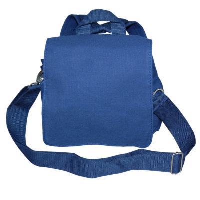 canvasrucksack blau wandelbare tasche von Lieblingsstücke 4330