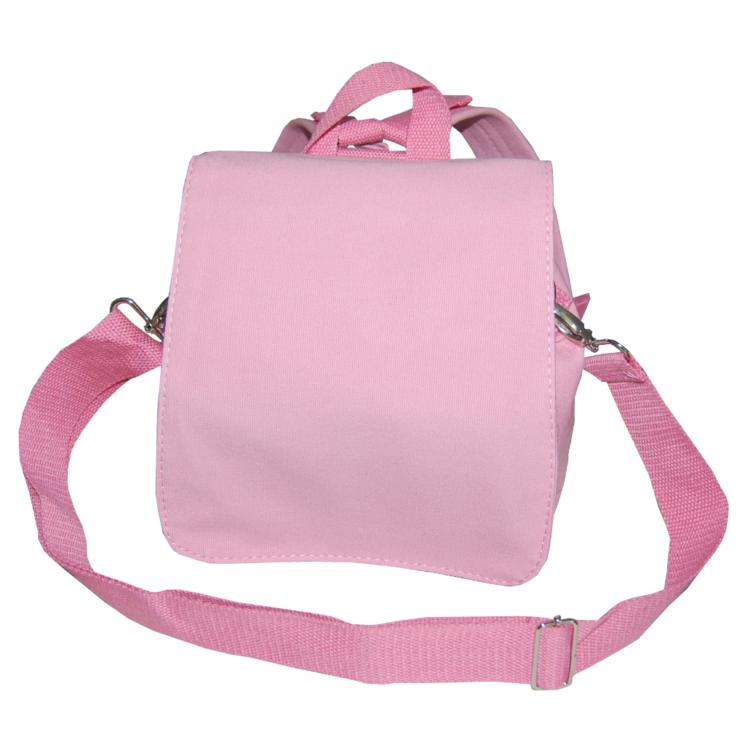 Canvasruck rosa Taschenrohling zum Gestalten von Lieblingsstücke 4330